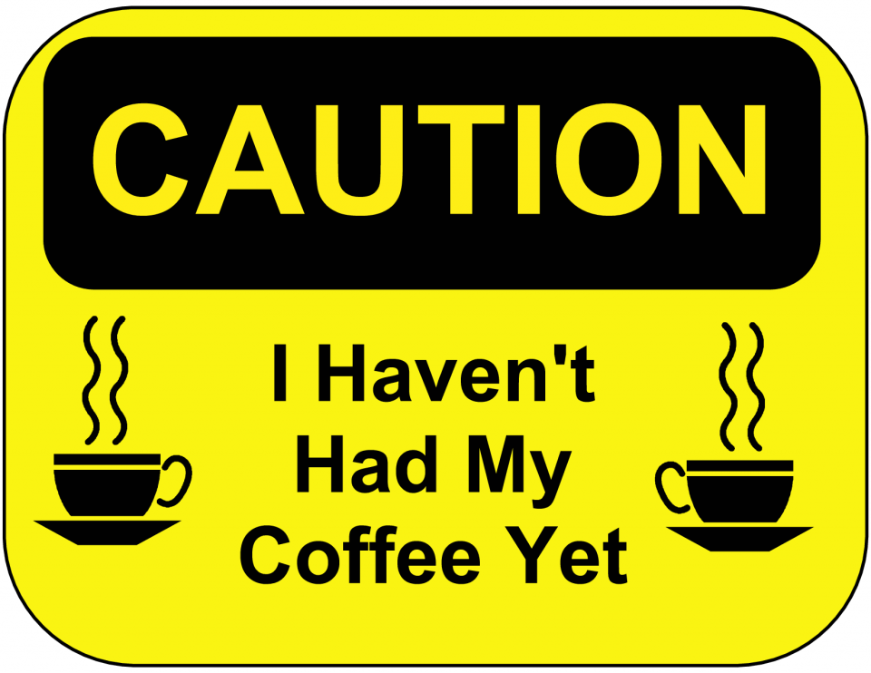 coffee funny poster