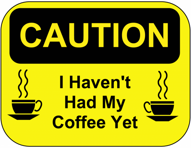 coffee funny poster -  11