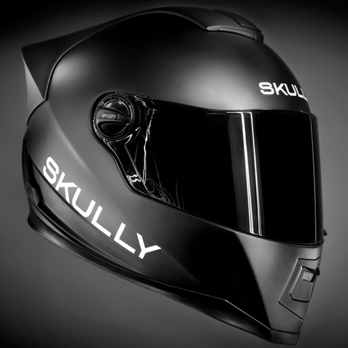 11 cool skully black motorcycle helmets
