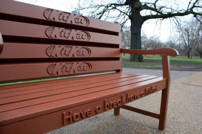 11 funny benches advertising