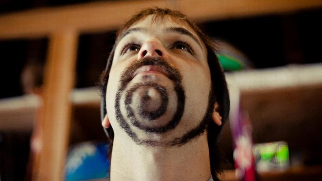11 spiral funny mustache