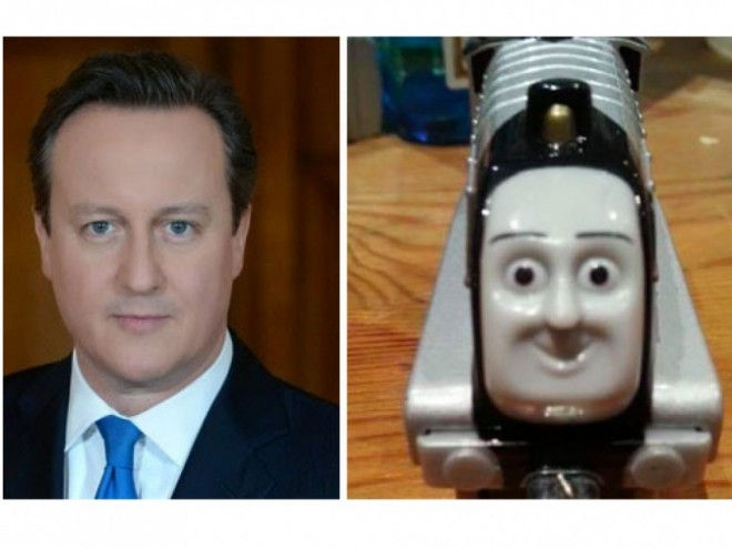 12 david cameron looks like a train funny similar things photography