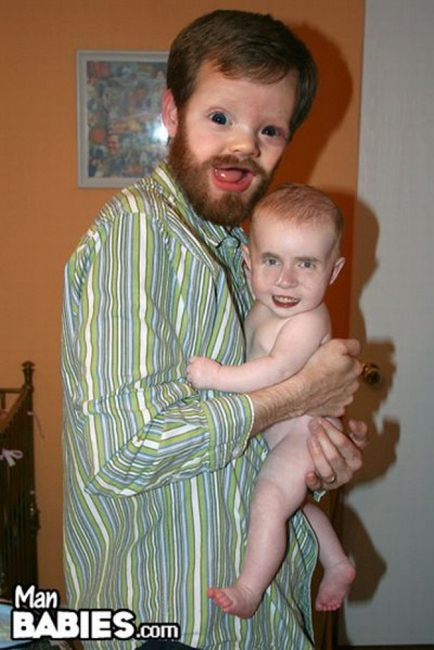 12 funny photoshop manbabies