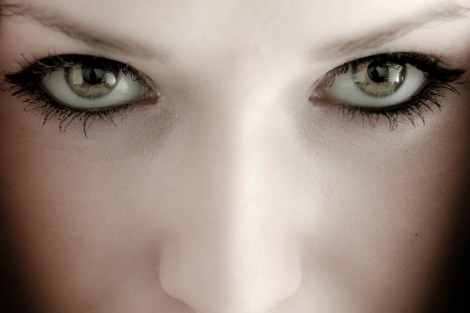 woman beautiful eyes by marcus