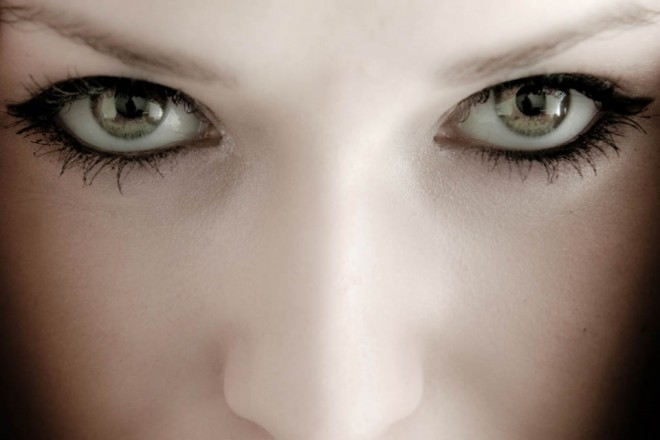 woman beautiful eyes by marcus -  12