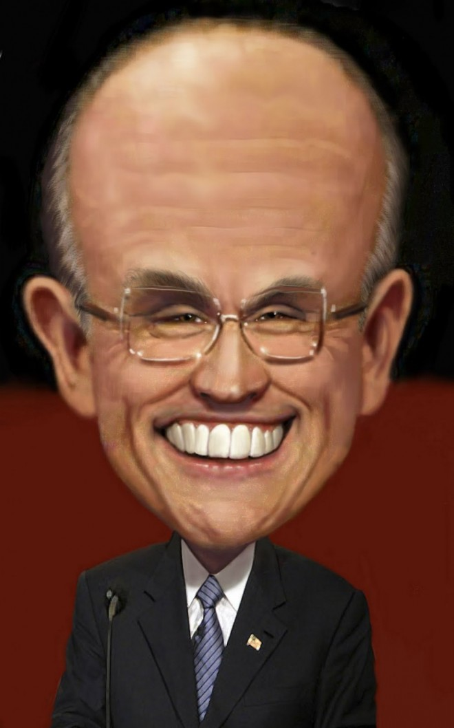 13 guiliani funny caricature