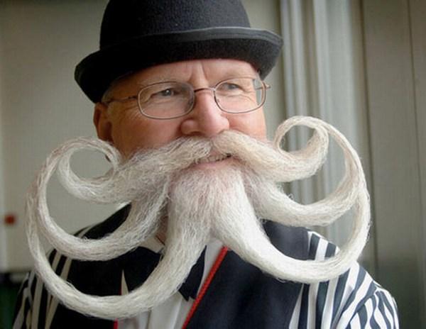 string funny mustache