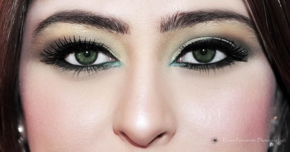 woman beautiful eyes by karen navarette photography