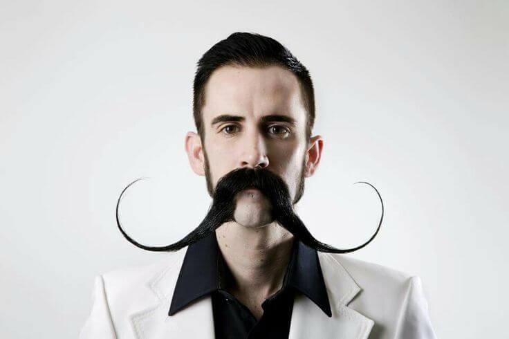 long funny mustache