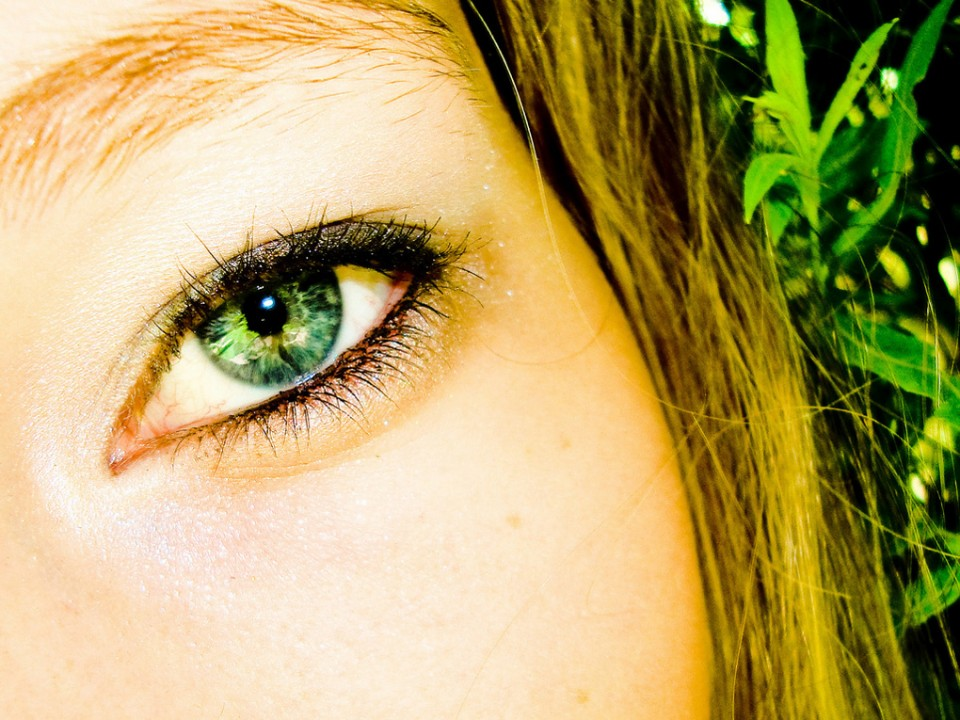 woman beautiful eyes by rachel worthman