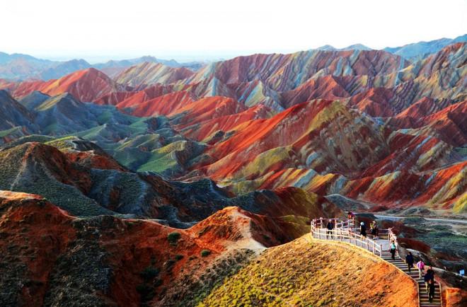 zhangye danxia landform photography