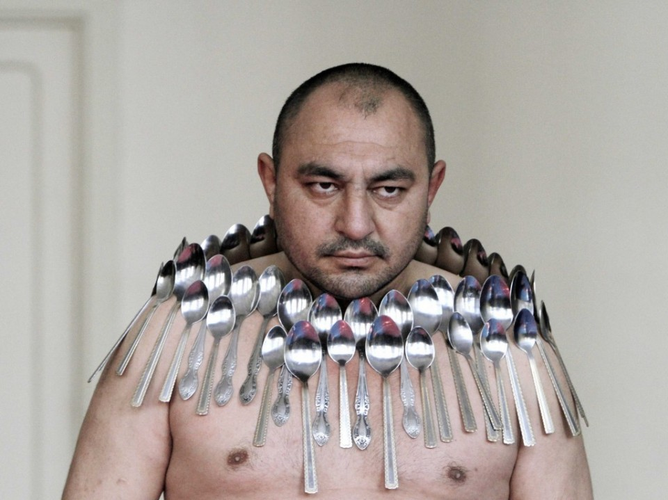 most spoons balanced funny guinness world records
