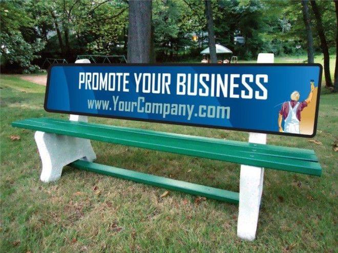 18 funny benches advertising