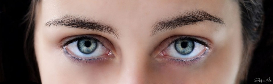 woman beautiful eyes by stefano mora