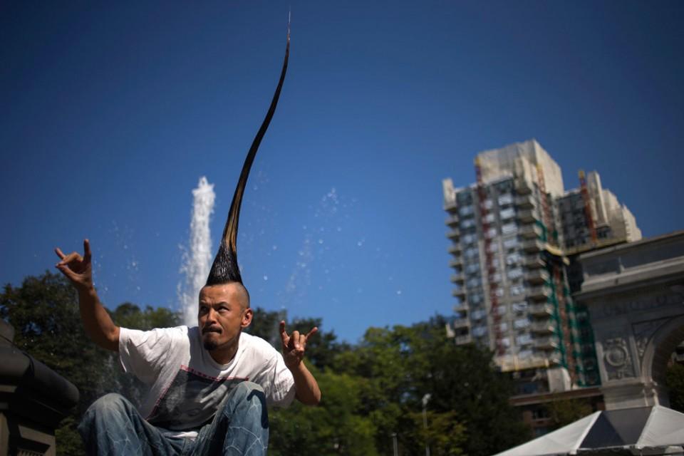 19 tallest mohawk funny guinness world records