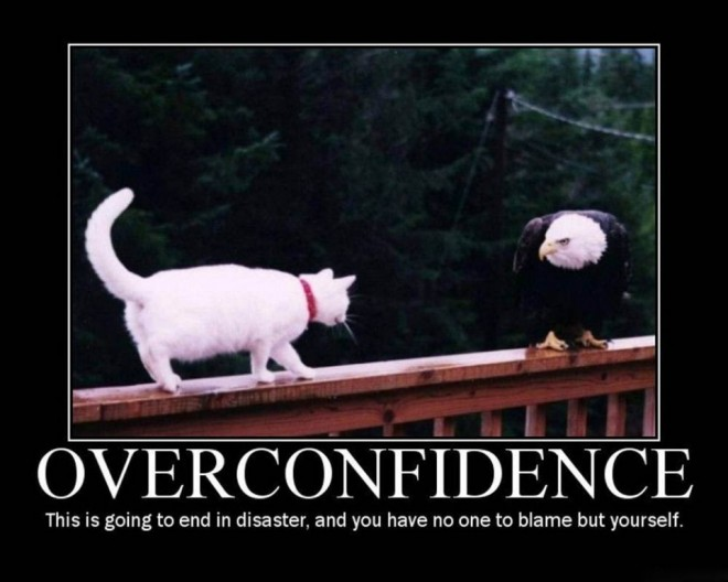 confidence funny poster -  2