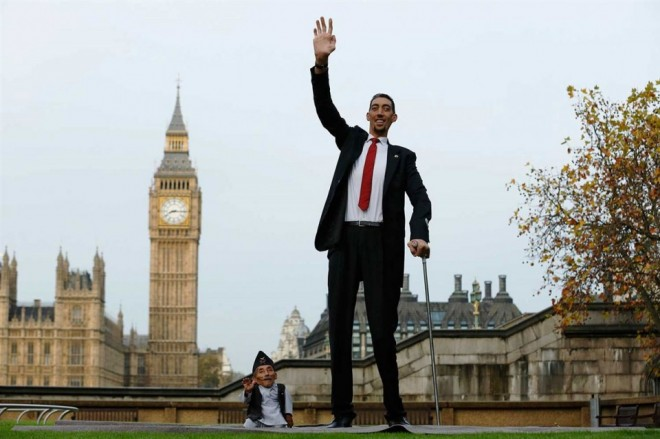 2 taller man funny guinness world records