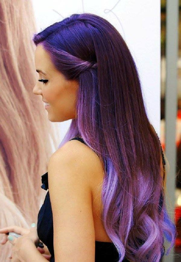 dyed hair funny photography