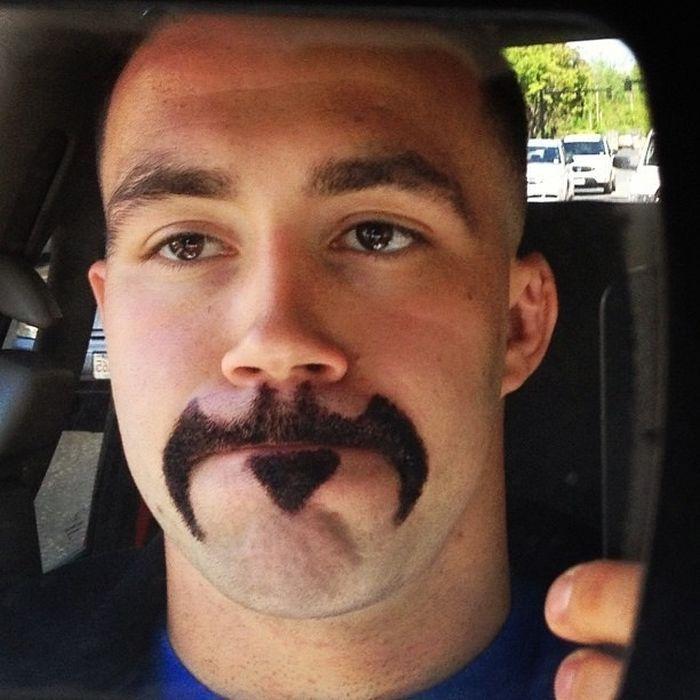 batman funny mustache