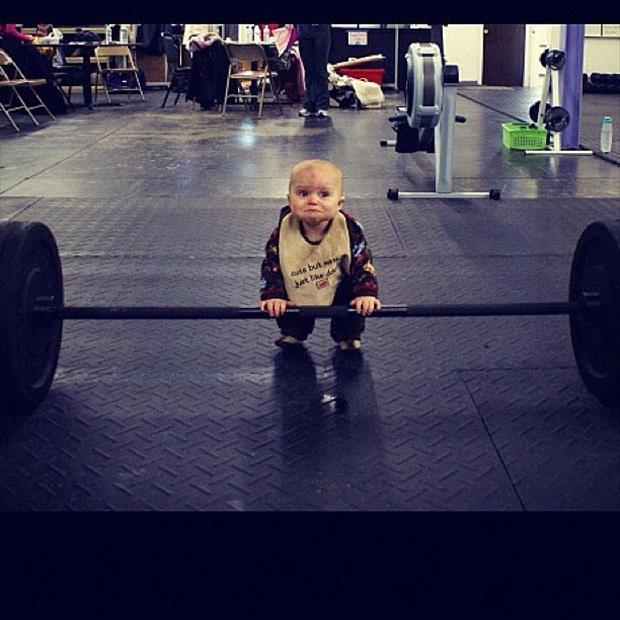 funny gym picture