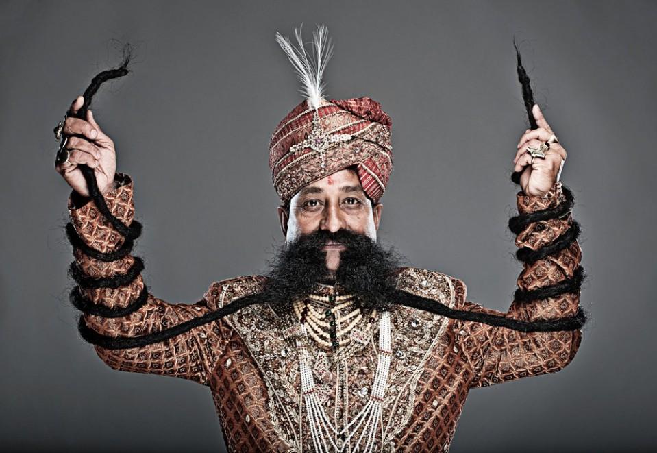 3 longest moustache funny guinness world records