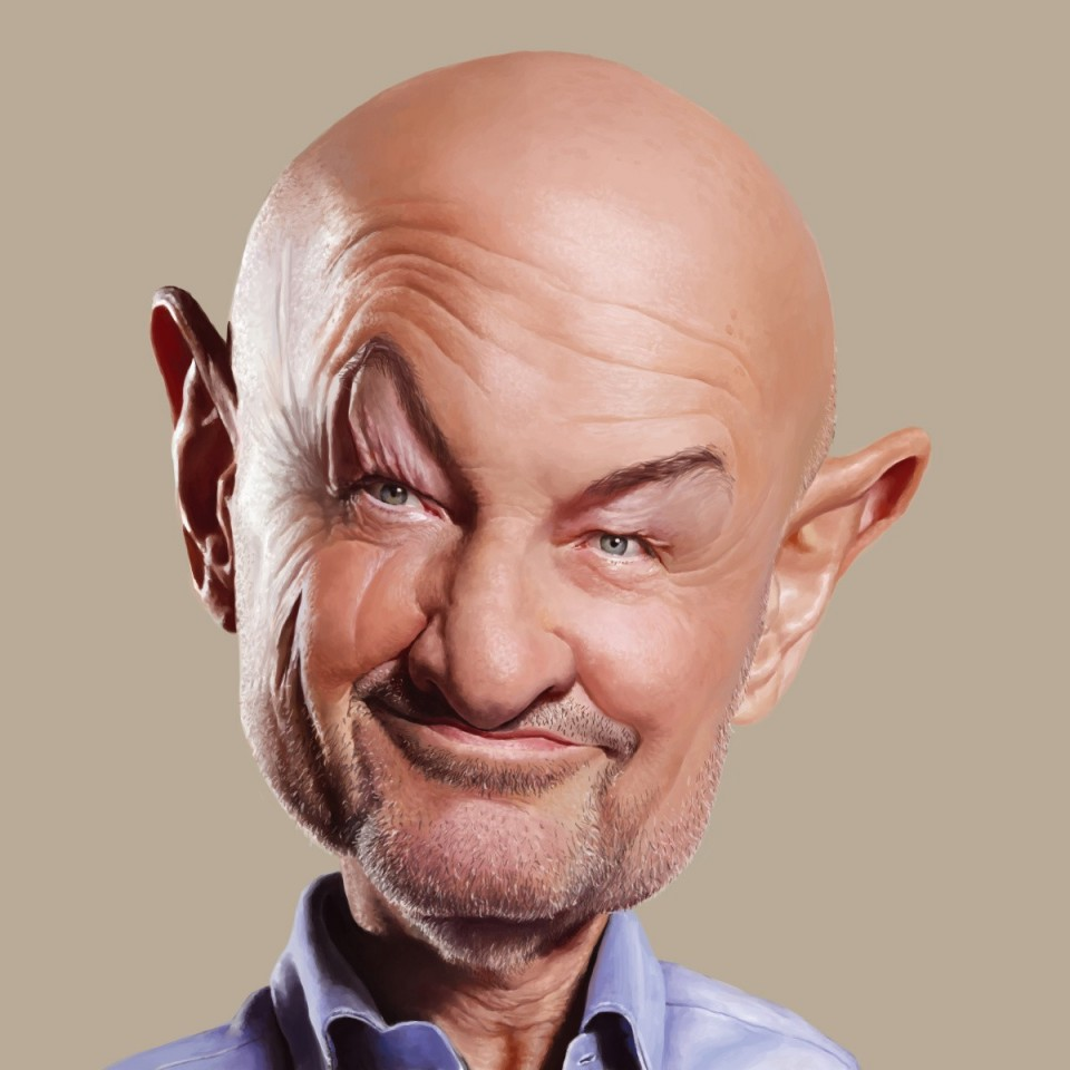 4 terry oquinn funny caricature by yoann lori