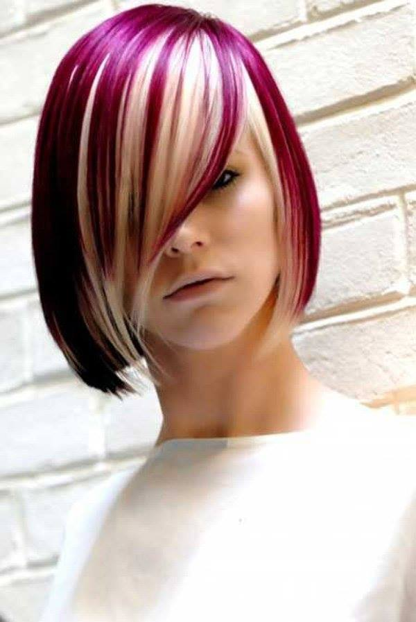 hot dyed hair funny photography