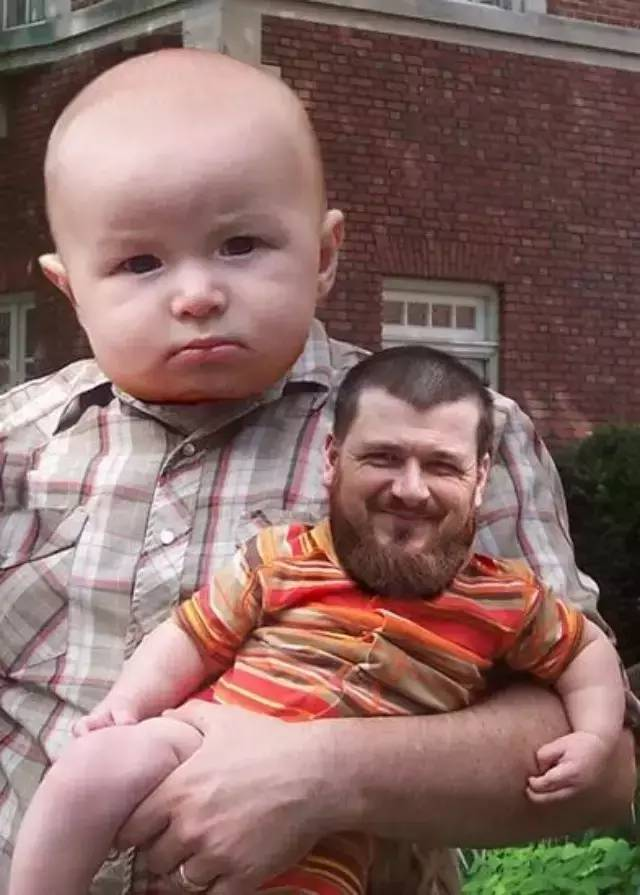 6 funny photoshop manbabies