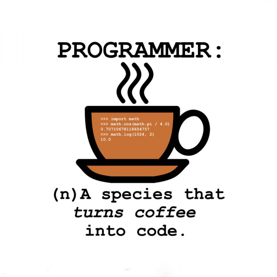 code funny poster