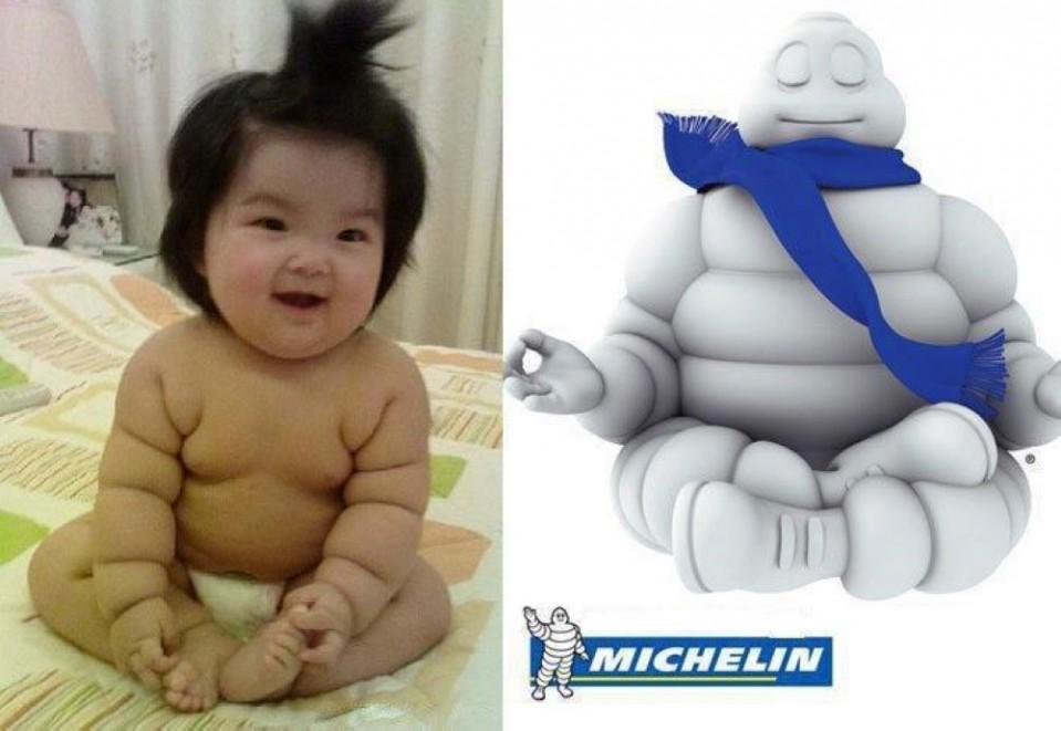 9 baby looks like michelin man similar funny photography