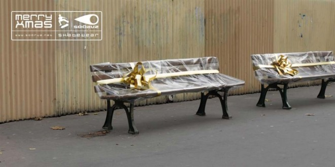9 funny benches advertising