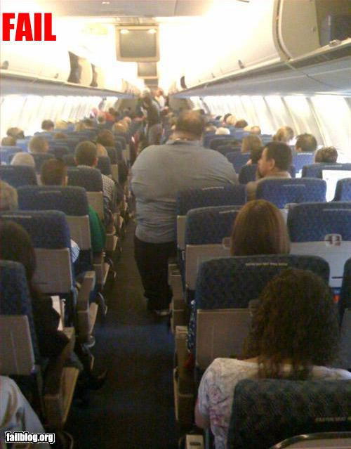 funny epic fail airplane seat