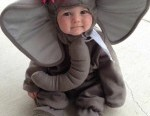 Elephant costume funny kids