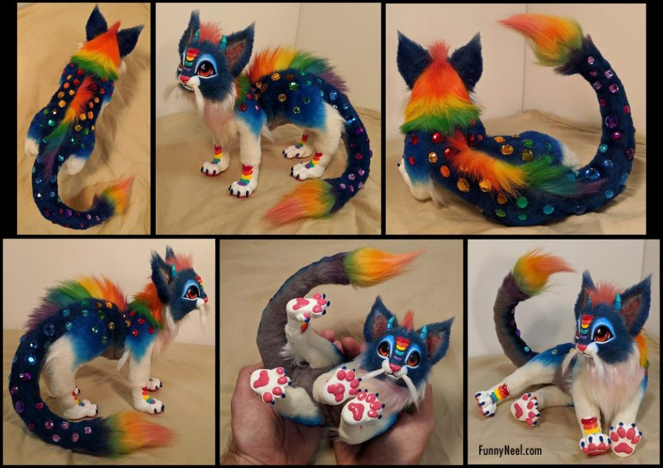 funny cat colouring fur by blazesnbreezes