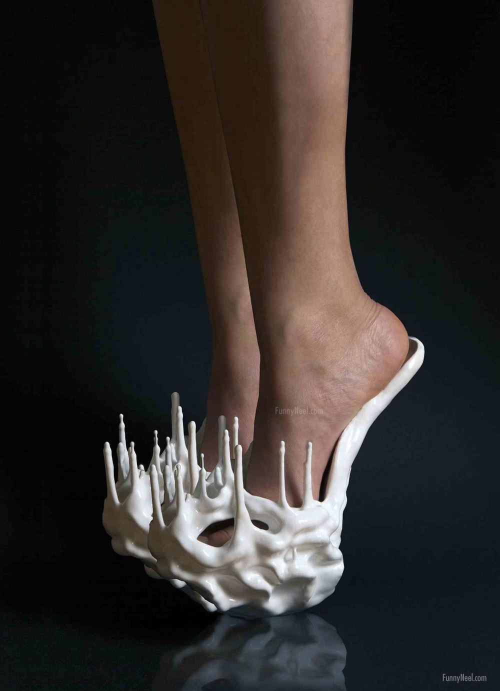 crazy heel shoe spike image