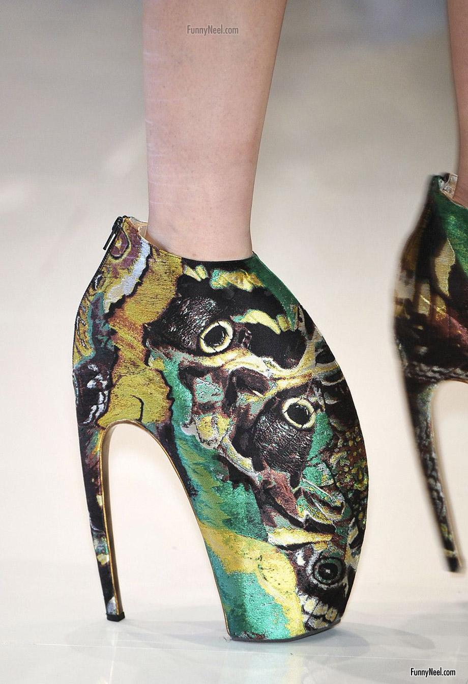 crazy heels shoe