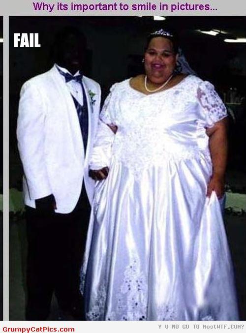 funny epic fail wedding