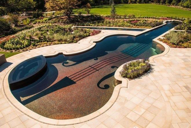 creative swimming pool design idea