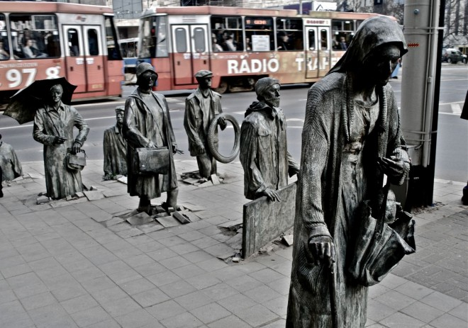 funny sculpture wroclaw statue passage by jerzy kaline