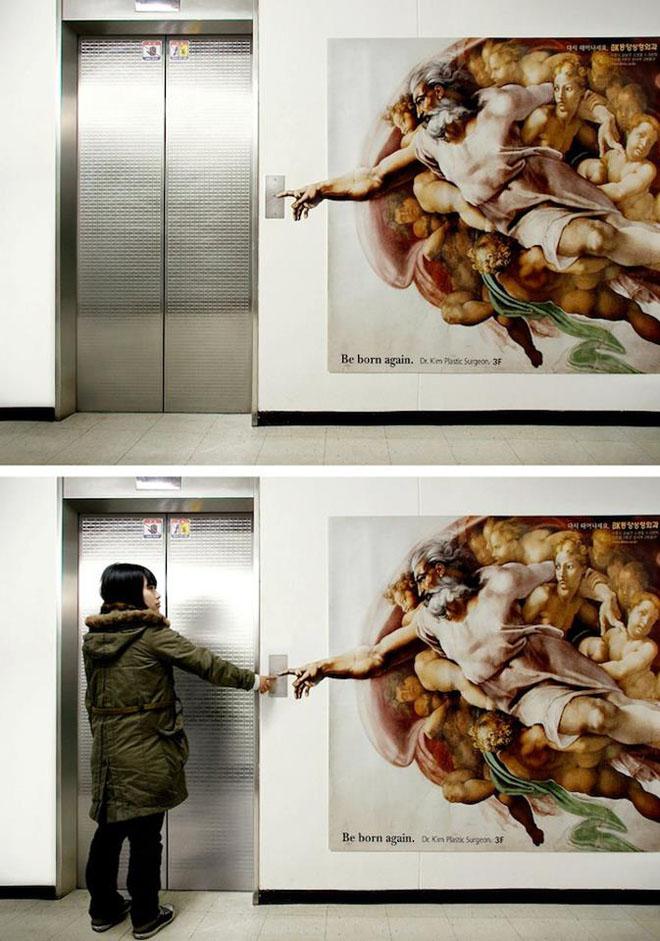 funny ad elevator