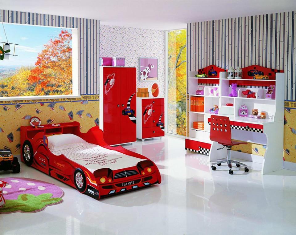 funny kids bedroom idea