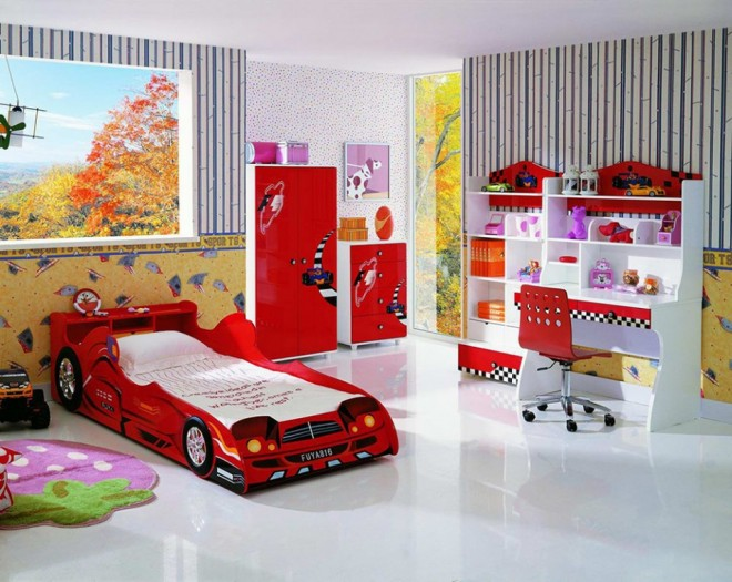 funny kids bedroom idea