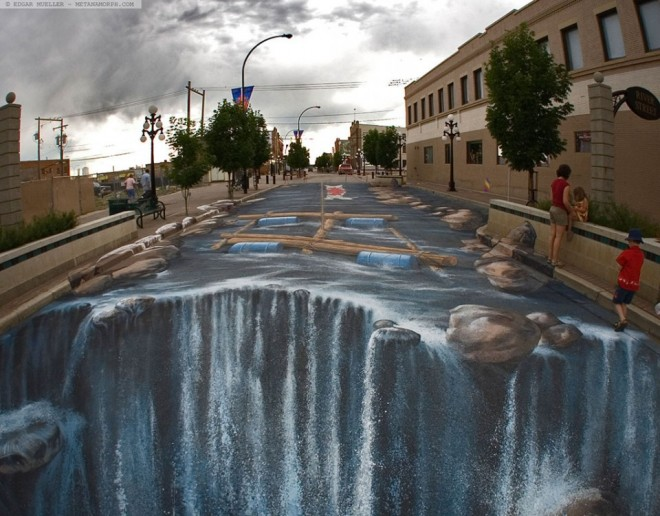 amazing picture -3d-street art