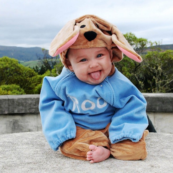 funny baby costume