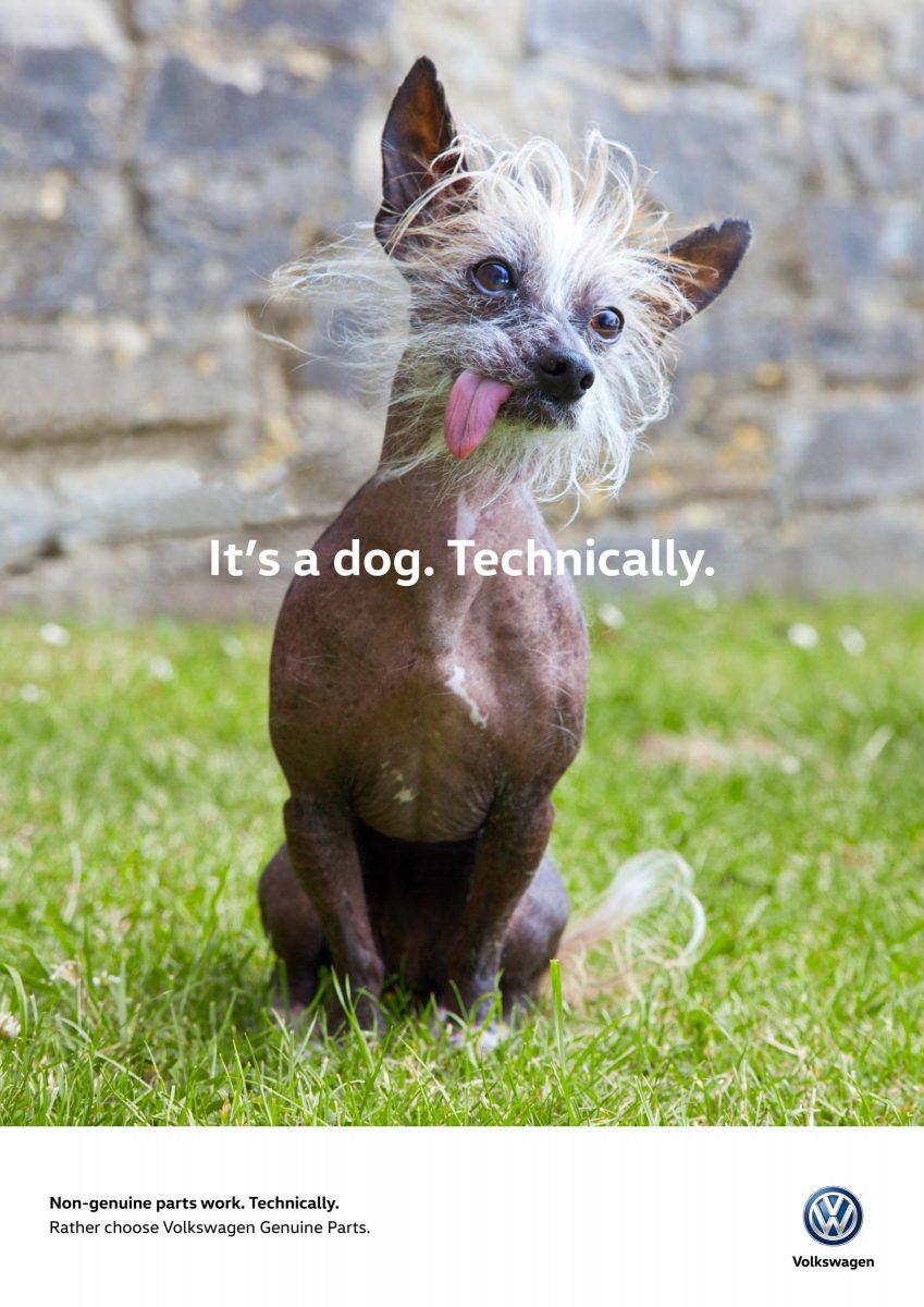 funny ads volkswagen dog
