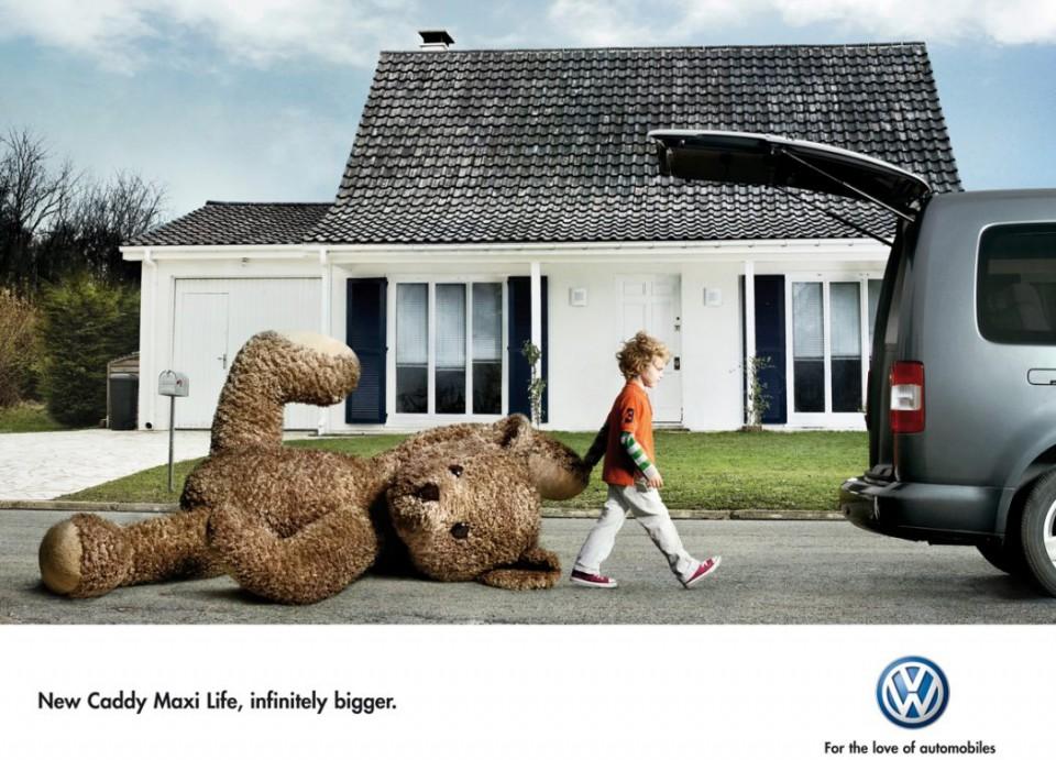 funny advertisement car volkswagen