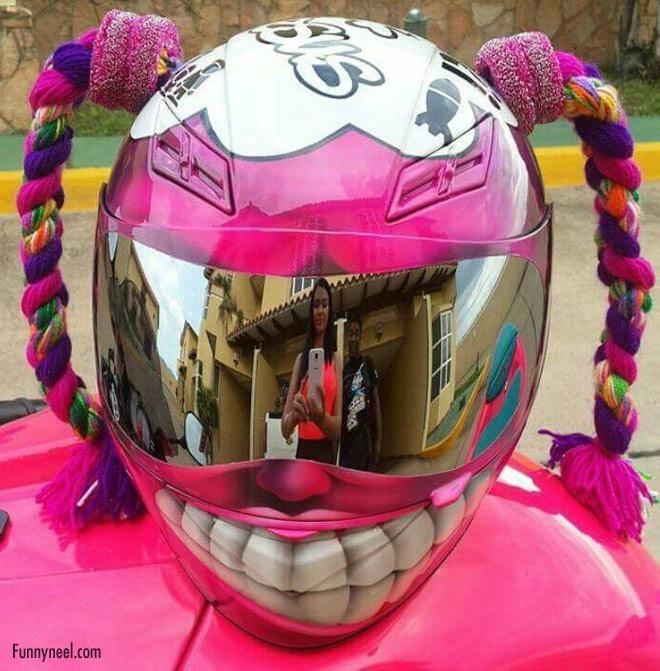 funny helmet