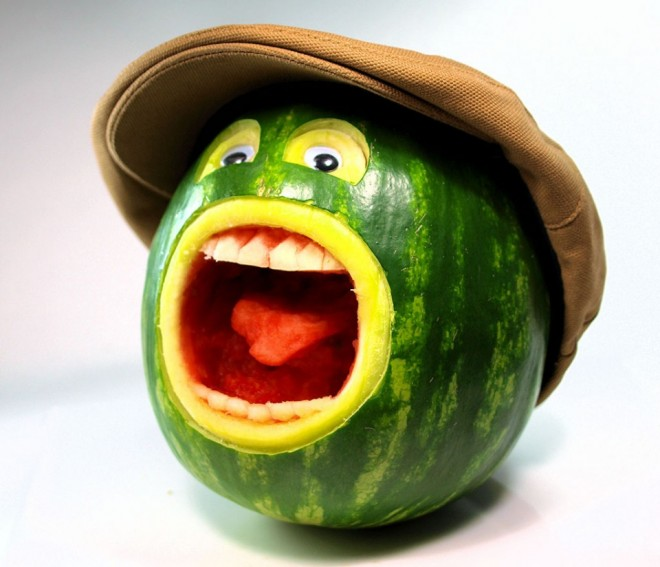 amazing pictureswatermelon carving