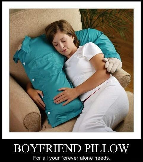 boy friend pillow