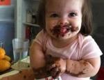 funny baby nutella